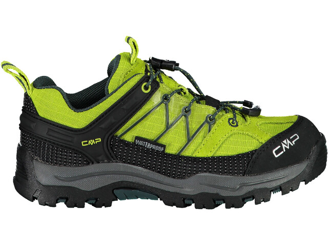 CMP Campagnolo Rigel WP Chaussures de trekking basses Enfant, energy/jungle